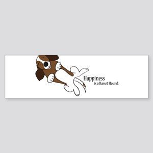 Basset Love Sticker (Bumper)