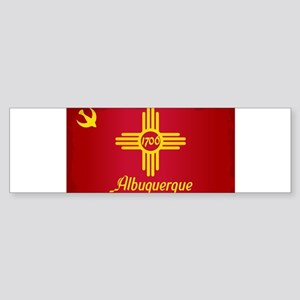 Albuquerque City Flag Bumper Sticker