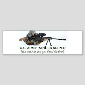 Army Ranger Sniper (bumper) Bumper Sticker