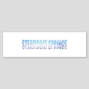 Steamboat Springs, Colorado Bumper Sticker