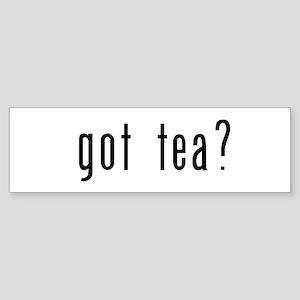 got tea? Sticker (Bumper)