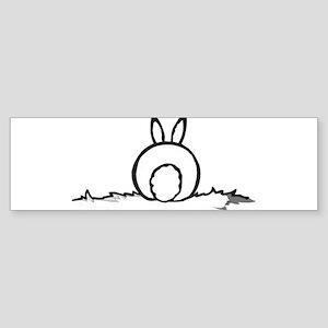Cotton Tail Bumper Sticker