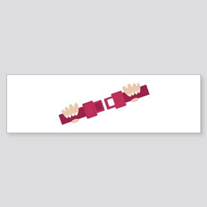 Seat Belt Bumper Sticker