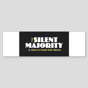 Silent Majority Bumper Sticker