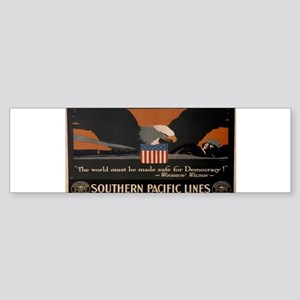 Vintage poster - Southern Pacific Bumper Sticker