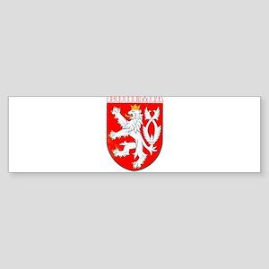 Bohemia, Czech Republic Bumper Sticker