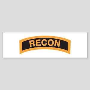 Recon Tab Bumper Sticker