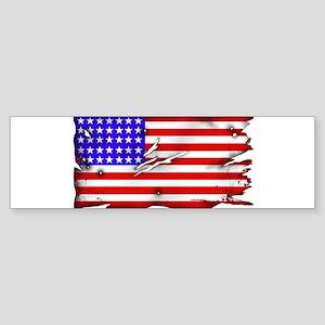 1864 US Flag Sticker (Bumper)