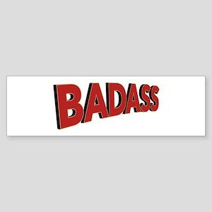Badass Bumper Sticker