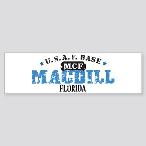 MacDill Air Force Base Bumper Sticker