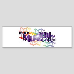 Life is a Musical Sticker (Bumper)