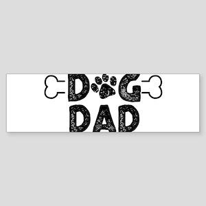 Dog Dad Bumper Sticker