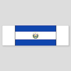 El Salvador - National Flag - Current Sticker (Bum