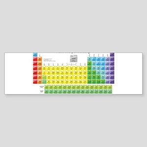 Periodically Bumper Sticker