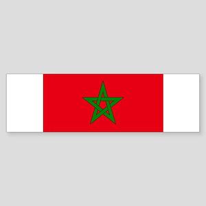 moorish flag, morocco glag, morocca Bumper Sticker