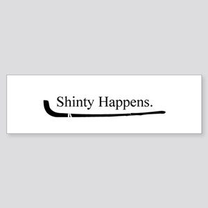 Shinty Bumper Sticker