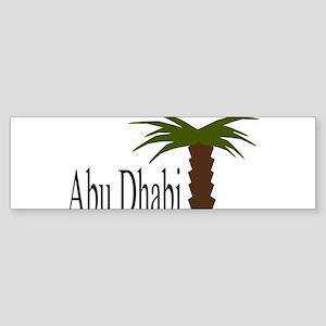 I love Abu Dhabi, amazing city! Bumper Sticker