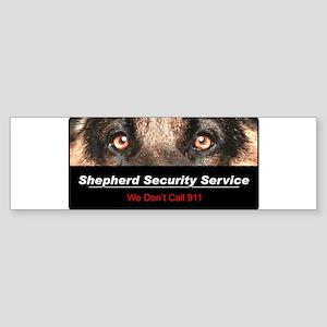 Shepherd Security Service Sticker (Bumper)