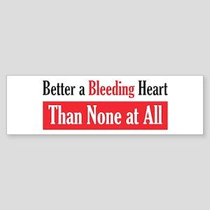 Bleeding Heart Bumper Sticker