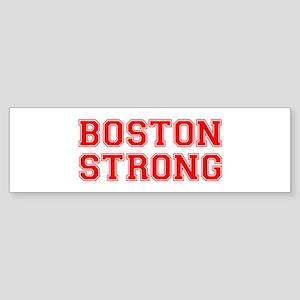 boston-strong-car-red Bumper Sticker