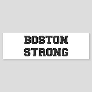 boston-strong-dark-gray Bumper Sticker