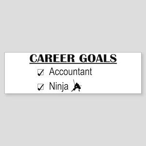 Accountant Carreer Goals Bumper Sticker