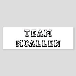 Team McAllen Bumper Sticker