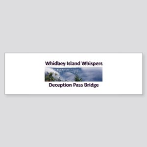 Deception Pass Bridge Sticker (Bumper)