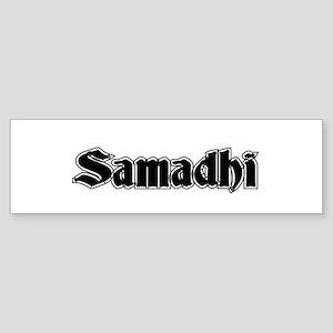 Samadhi Bumper Sticker