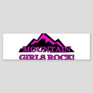 Mountain girls rock Bumper Sticker