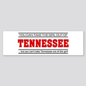 'Girl From Tennessee' Sticker (Bumper)