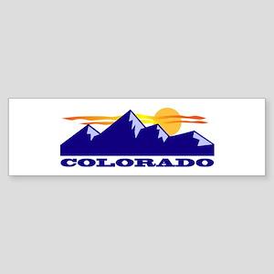 Colorado Rocky Mountains Bumper Sticker