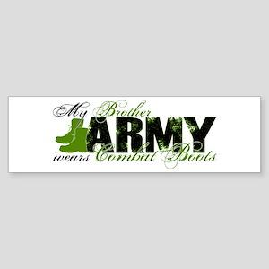 Bro Combat Boots - ARMY Sticker (Bumper)