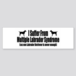 Labrador Retriever Sticker (Bumper)