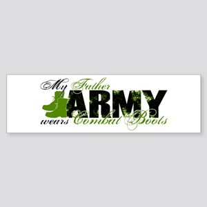 Father Combat Boots - ARMY Sticker (Bumper)