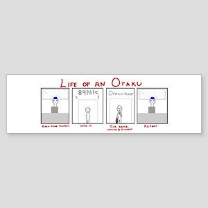 Life of an Otaku Bumper Sticker