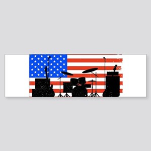 USA Rock Band Bumper Sticker
