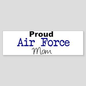 Proud Air Force Mom Bumper Sticker