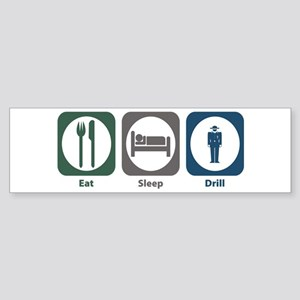 Eat Sleep Drill Bumper Sticker