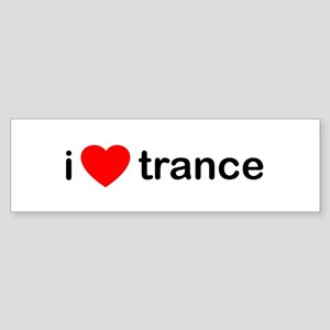 I Love Trance DJ Sticker (Bumper)