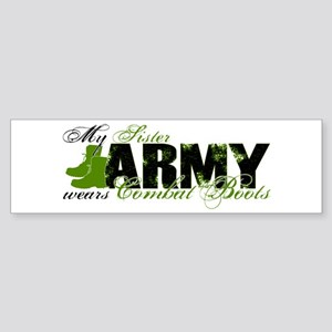 Sister Combat Boots - ARMY Sticker (Bumper)