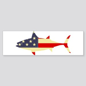 """""""Patriotic Tunoid"""" Bumper Sticker"""