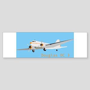 DC 3 Douglas Bumper Sticker