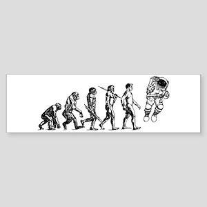 Astronaut Evolution Sticker (Bumper)