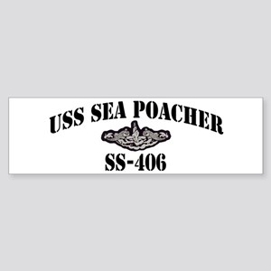 USS SEA POACHER Sticker (Bumper)
