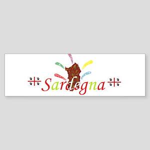 Sardegna bella Bumper Sticker