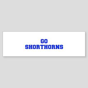Shorthorns-Fre blue Bumper Sticker