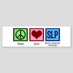 Speech Language Pathology Sticker (Bumper)