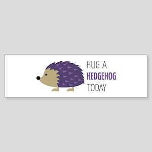 Hug A Hedgehog Bumper Sticker