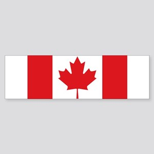 Canada National Flag Sticker (Bumper)